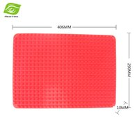 silicone baking mat - Non Stick Slip Silicone Baking Mat BBQ Barbecue Grill Mat Household Oil Filter Pad dandys