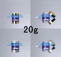 glass bottles cosmetic packaging - EPF G purple clear glass cream jar with silver gold lid cosmetic container Cosmetic Jar Cosmetic Packaging glass bottle