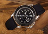 batteries list - New listing High quality Black face ceramic bezel Rose golden case Rubber band Automatic watch Mechanical Watch