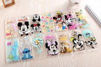 Wholesale 2015 New arrive stylel For Apple iphone s quot case Transparent cartoon duck mickey minnie Snow White cell phone cases covers