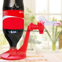 Wholesale freeshipping Pattern Atractive Soda Dispense Gadget Convenient Soft Drink Coke Party Drinking Saver Dispenser Water Machine Tool
