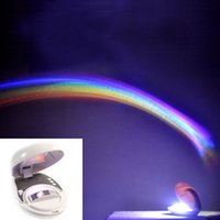 Wholesale Creative Rainbow Projector LED Rainbow Night Light Lamp for Girl friend Valentine s Day Gift
