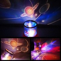 Wholesale Universe Master Star Light LED Night Light Projector Lamp Automatic Change LED Color Night Lights for Children Gift