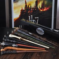 Wholesale Top quality Deluxe Harry Potter Hogwarts Magic Magical Wand Wizard Advanced Edition