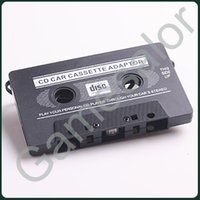 Wholesale CAR CASSETTE ADAPTER for iPod video MP3 CD MD