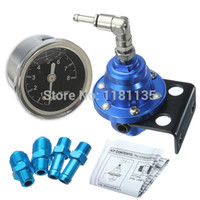 Wholesale 4 mm High Quality Fuel Pressure Regulator Fuel Regulator with Original Gauge Type S Titanium Adjustable Style