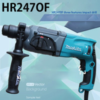 Wholesale Genuine Makita Makita impact drill hammer function electric pick three power tools