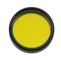 Wholesale Yellow Inch No12 Filter nebula filters deep sky observation for telescopio Eyepiece Astronomical telescope oculares