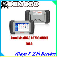Engine Analyzer audi distributors - 2015 Autel MaxiDAS DS708 Original Legal Distributor Professional Diagnostic Tool OBDII EOBD Multi language Automotive Diagnostic System