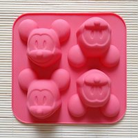baking mold suppliers - Quality suppliers even Mickey head silicone Cake mould ultra soft and easy to mold resistant to high temperature environmentqqme