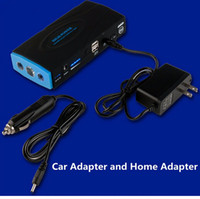 battery boosters chargers - High Quality V Portable Mini Jump Starter mAh Car Jumper Booster Power Battery Charger Power Bank for Petrol and Diesel