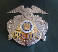 art career - Losangeles LAPD METAL BADGE INSIGNIA badge copper