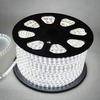 ac hot wire - Hot sale m SMD White color v AC with EU US plug high power LED strip light