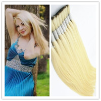 indian remy hair bulk - 8A human remy hair bulk quot quot virgin russian nature hair bulk raw hair bulk blonde silky straight