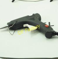 Wholesale 5pcs sticker piece W Hot Melt Plastic Glue Gun Sticks DIY Jewelry Tools Black Voltage V piece retail