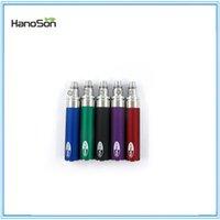 Wholesale 100 original factory Hanoson hot selling electronic cigarette ego battery new type ego t battery II with mah big capacity