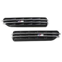 Wholesale High Quality Decorative Air Flow Fen der Side Vents Hole Grille For BMW E90 E91 E36 E46