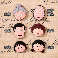 Wholesale 12 pieces Small Ball of Cherry Family Fridge Magnet Series Creative Whiteboard Refrigerator Magnets New