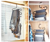 Wholesale High Quality S Trousers Rack Metal Hanger For Touser Scarf Garment Hangers