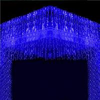 Wholesale New LED LED LED LED lights flashing lane LED String lamps curtain Christmas home garden festival lights v v EU UK US AU