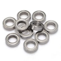 Wholesale Brand New x Miniature Rubber Sealed Metal Shielded Metric Radial Ball Bearing Model MR148 ZZ x x mm Best Promotion