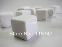 Wholesale PEARL WHITE Whisky stones set velvet bag natural whiskey rocks wine ice stone