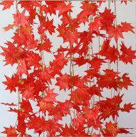 Wholesale 120pc Artificial Maple Leaf Floral Decor Party Decoration Artificial Flowers