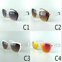pink sunglasses - 2015 Mumu High Quality Fashion Sunglasses For Women Designer Sun Glasses Black Tortoise White And Pink Uv400