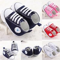 Wholesale Infant Toddler Baby Boys Girls Soft Non slip Sneakers Trainers Shoes from Newborn to Month YH