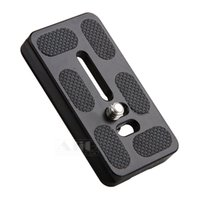 akai - Metal cm PU Quick Release Plate quot Screw Mount Camera Tripod Monopod Benro Akai Arca Swiss Ball Head Ballhead Accessories
