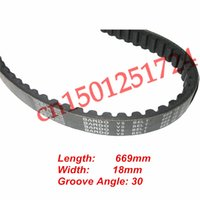 go kart engines - Japanese BANDO Drive Belt For QMB cc cc GY6 Engine Scooter ATV GO KART MOPEDS Scooter spare parts