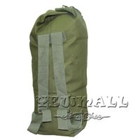 Wholesale Outdoor Military Bag Durable Tactical Super Large Dual purpose Shoulders Bag Canvas Duffle Backpack NO Cheap