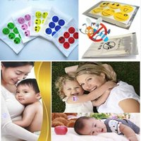 Wholesale Baby Children Natural Repellent Mosquito Sticker Smile Face Pattern Anti Mosquito Tools
