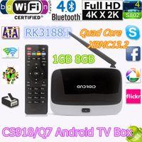 antenna controller - Android kitkat TV Box XBMC GOTHAM Mini TV RK3188T Quad Core GB GB PC Stick With IR Remote Controller CS918 Wifi Antenna