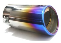 Wholesale GZ bluing stainless steel exhaust pipe the car s exhaust muffler is modified car tail throat liner