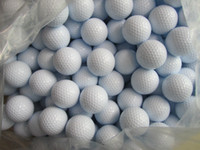 Wholesale color Practice Golf Balls Layer Training Ball With Dupont Surlyn Synthetic Rubber Fedex UPS