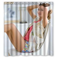 bath designs pictures - Stylish Design Bath Curtain66x72 Printed Super Model Miranda May Kerr Sexy Woman Pictures Custom Shower Curtain quot x quot
