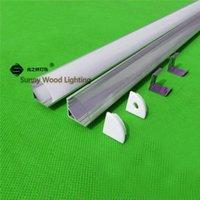 ap bar - 6pcs inch m led profile for strip corner aluminium profile with cover for led bar light AP
