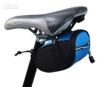 Wholesale 5pcs Convenient Bicycle Saddle Bag Bike Zipper Bag Pouch for Outdoor Activities Color Assorted