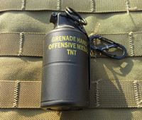 airsoft smoke grenade - MK3A2 airsoft DUMMY Smoke Grenade type Windproof lighter Keychain