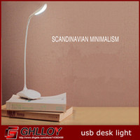 Wholesale Adujustable Brightness USB LED Desk Table Lamp ReadingLight Touch Switch up