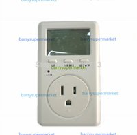 Wholesale 20pcs US American Version WF D02A Saving Energy Wanf Mini WATT Electricity Power Energy Usage Ammeter Meter Monitor AC Voltage