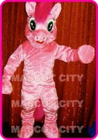 pies - Pinkie Pie My Little Pony Mascot Costume Adult Factory Custom Cartoon Theme Anime cosply Mascotte Fancy Dress Kits SW1588