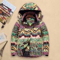 Wholesale New brand ski womens snow suits ladies snowboard jackets colorfull snowboarding amp skiing coats chaqueta de nieve esqui mujer