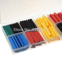 Wholesale 280pcs Assortment Ratio Heat Shrink Tubing Tube Sleeving Wrap Kit with Box Colorful