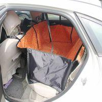 Wholesale hot sale Pet Supplies Pet Dog Car Seat Cover Waterproof Hammock brown orange green purple