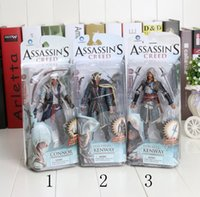 assassin toys - Assassins Creed cm Black Flag Edward Kenway PVC Action Figure Collection Model Toy new arrival