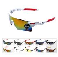 Nueva actualización bicicleta de ciclo Bike Deportes Gafas de moda las gafas de sol de los hombres / mujeres Montar Gafas Pesca Colores