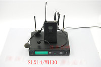 headset microphone - 800 MHz Wireless Microphone Set SLX4 receiver SLX1 transmitter WH30 headset microphone For Stage Performance