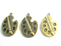 antique jewelry stores - charms mm DIY alloy jewelry accessories antique bronze Paint plate charm pendants Diy Jewelry jewelry accessories stores